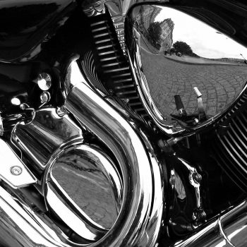 Motorcycle_Reflections_bw_edit